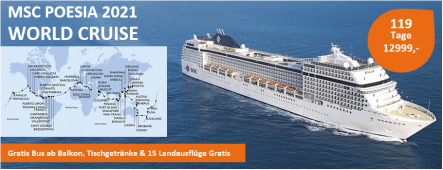MSC World Cruise MSC POESIA